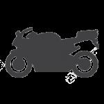 pictogramme, moto, accessoirement