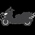 pictogramme, scooter, accessoirement