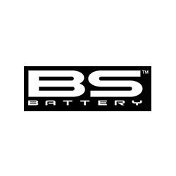 bs battery, marque, logo
