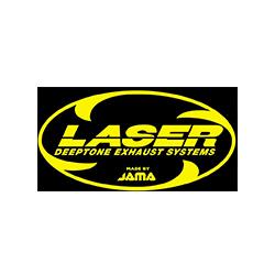 laser, marque, logo